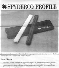 Spyderco 701 Profile Instructions