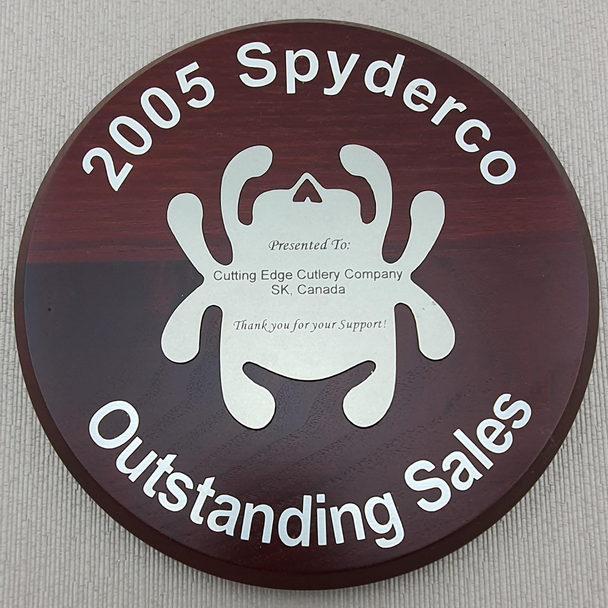 Spyderco award 2005