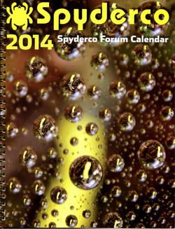 2014 Spyderco Calendar