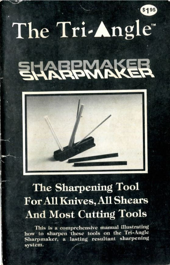 Sharpmaker black book
