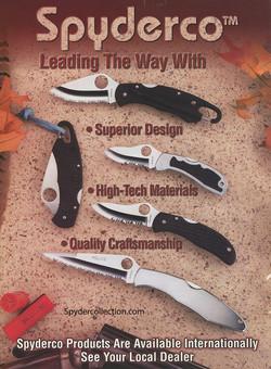 Spyderco magazine ad 3sml