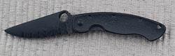 Spyderco Military black Pin
