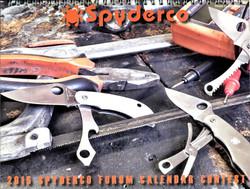 Spyderco Calendar 2015