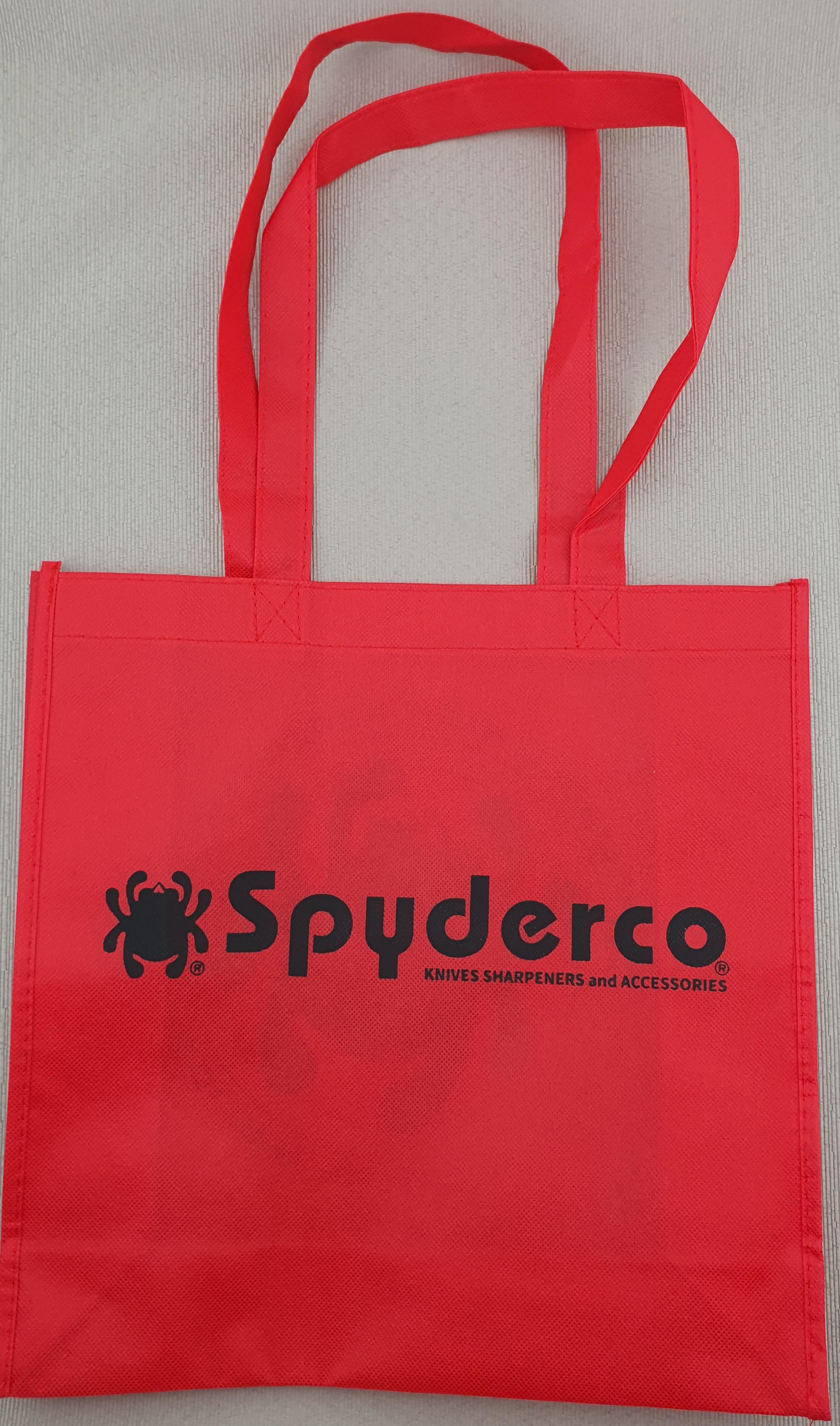 Spyderco 2020 bag front