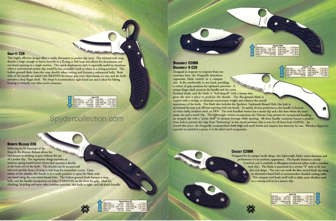 Spyderco artwork 2000 12