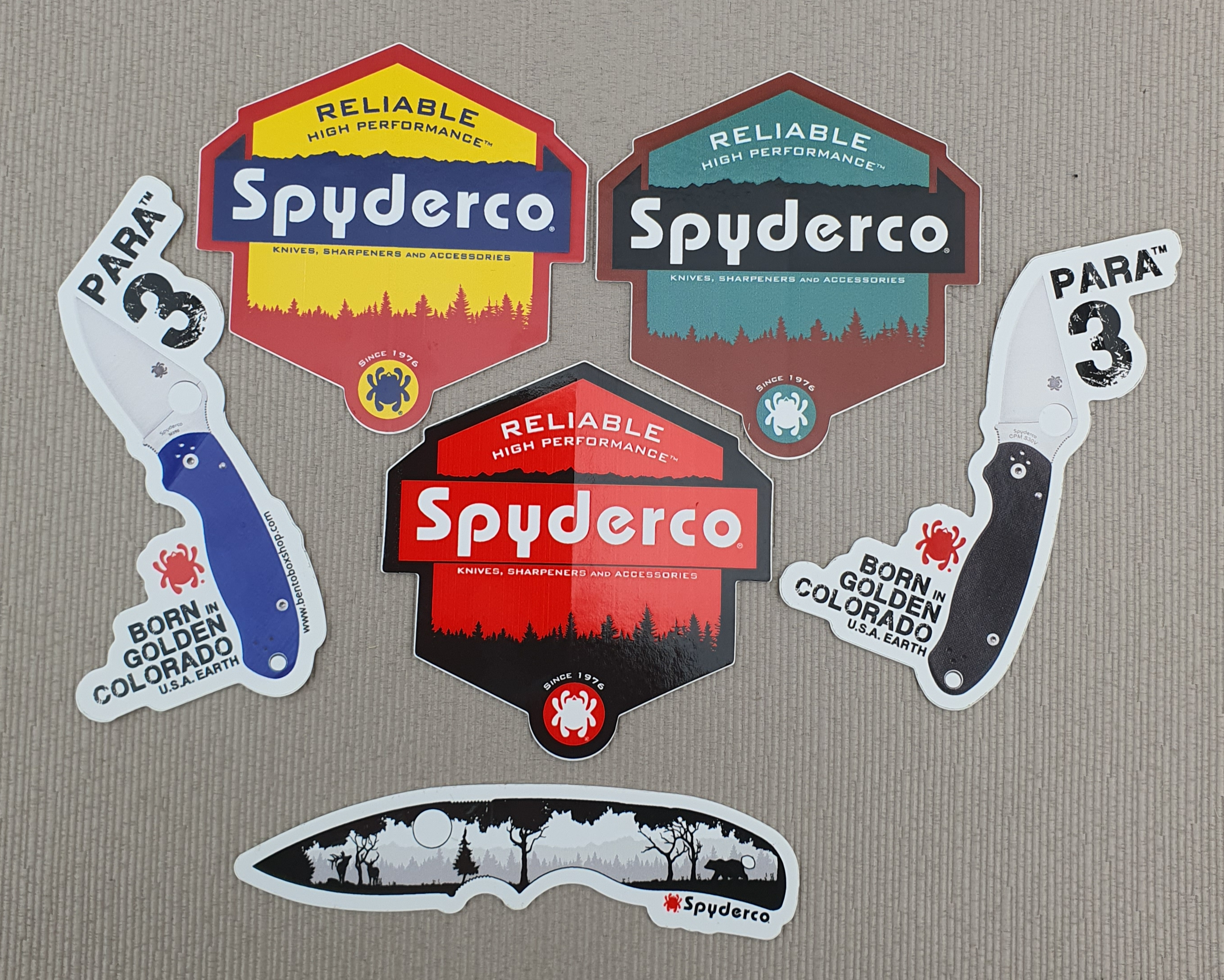 Spyderco sticker 4