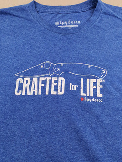 Crafted for life shirt