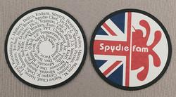Spydeiefam coasters