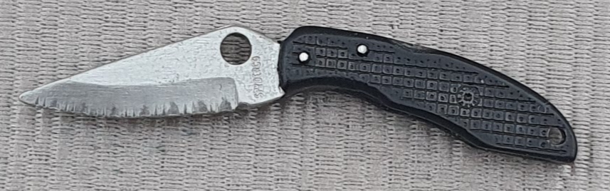 Spyderco Endura black Pin