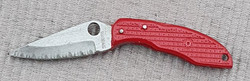 Spyderco Endura red Pin