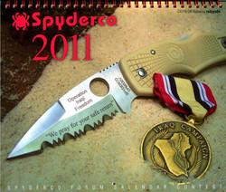 2011 Spyderco Calendar