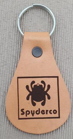 Fan made Spyderco key ring