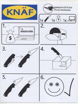 Knaf store sticker