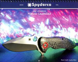 2017 Spyderco Calendar