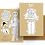 Thumbnail: Paper Doll Greeting Card Warm Wishes
