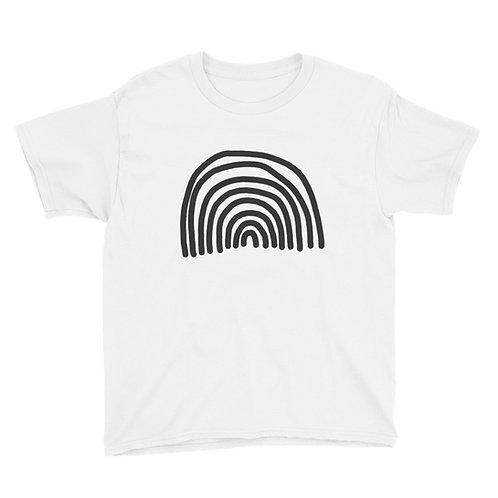 Unisex Youth XS - XL T-Shirt LGBTQIA+ for Kids Rainbow