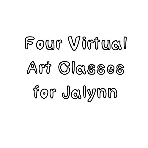Virtual Art Classes for Jalynn