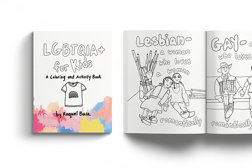LGBTQIA+ for Kids: A Coloring and Activity Book