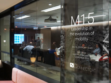 Connector's M15 Mobility Forum a huge success!