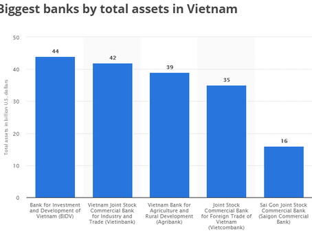 Do you know which are the largest Vietnamese banks?