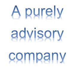 A purely advisory company