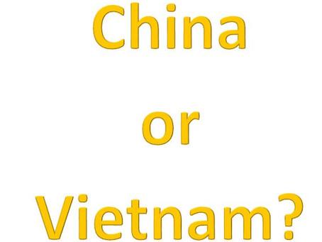 La Chine peut faire la une des journaux, mais méfiez-vous du Vietnam