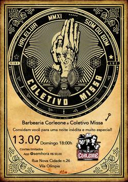 Coletivo Missa visita Barbearia Corleone