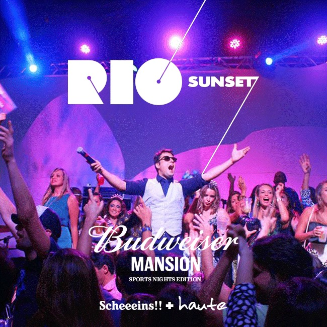 RIO SUNSET Budweiser Mansion