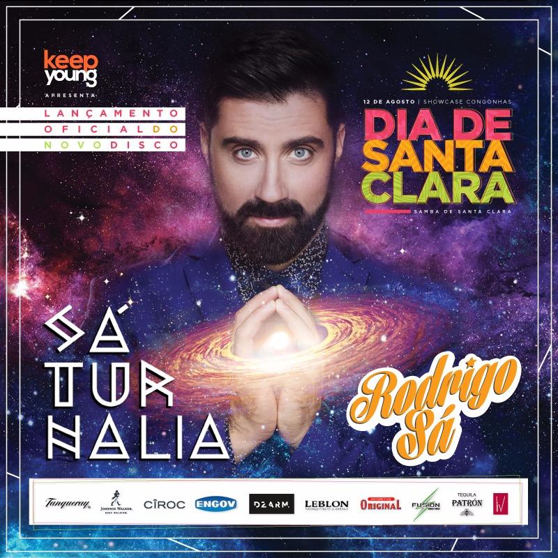 Flyer Rodrigo Sa Brazil Music Dia de Santa Clara Saturnalia