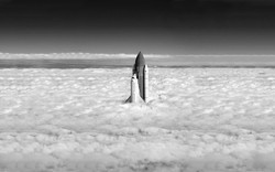 space-shuttle-air-sky-clouds-black-and-white-photography-1920x1200