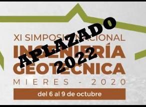 XI SIMPOSIO DE INGENIERÍA GEOTÉCNICA