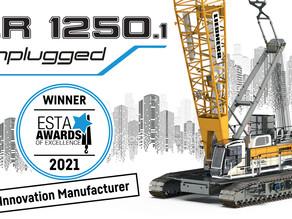 Liebherr gana el premio ESTA a la innovación con su modelo LR 1250.1