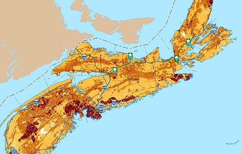 Nova Scotia Radon Risk Map.JPG