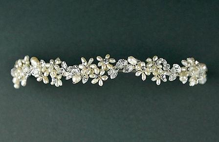 Pearl and crstal tiara