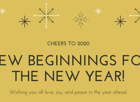 Happy New Beginnings!