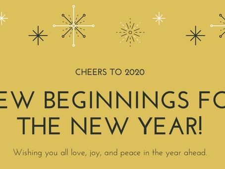 Happy New Beginnings!