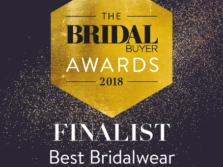 Pure Bridal - Nomination for Best Bridalwear Manufacturer Of The Year!
