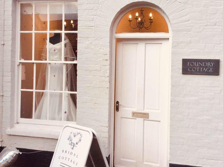 It is so wonderful to be back in our happy place, helping brides find 'The One'