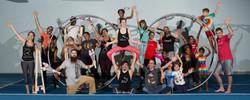 Sokol Family Circus Group Photo - credit