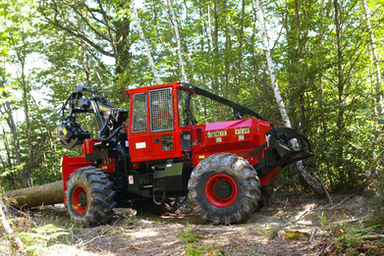 tracteur forestier camox occasion a vendre