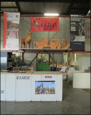 Le comptoir du magasin