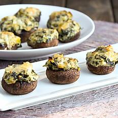 Spinach Artichoke Stuffed Mushroom