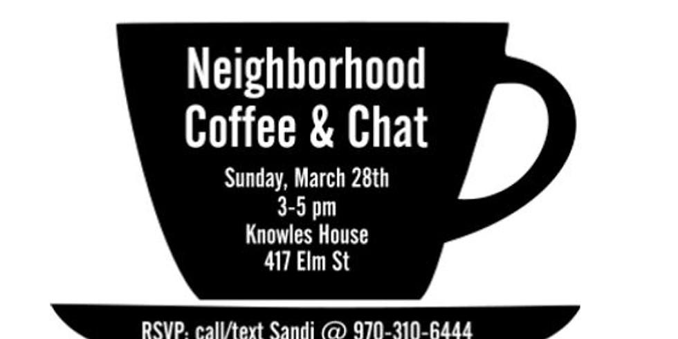 Neighborhood Coffee & Chat
