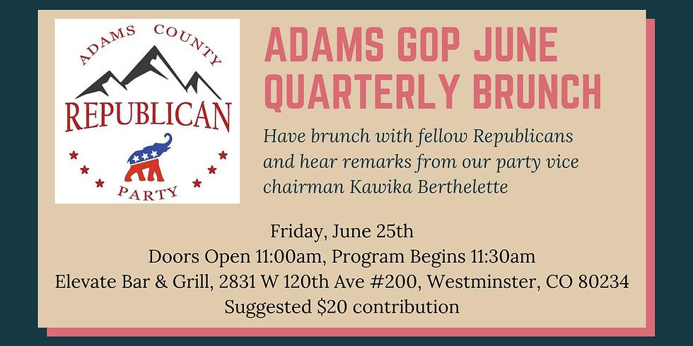 Adams County GOP Quarterly Chairman's Brunch