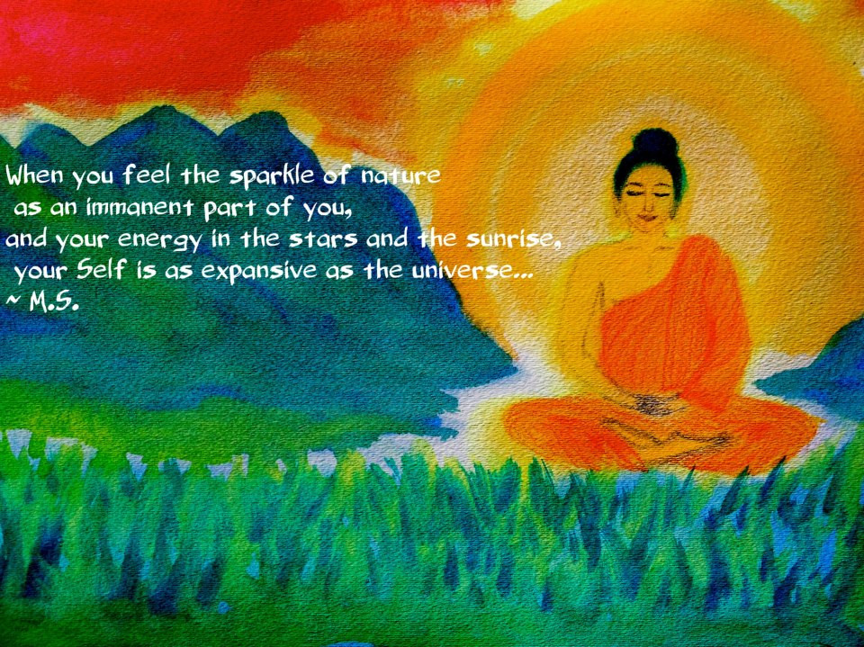 My quote & Buddha painting.jpg