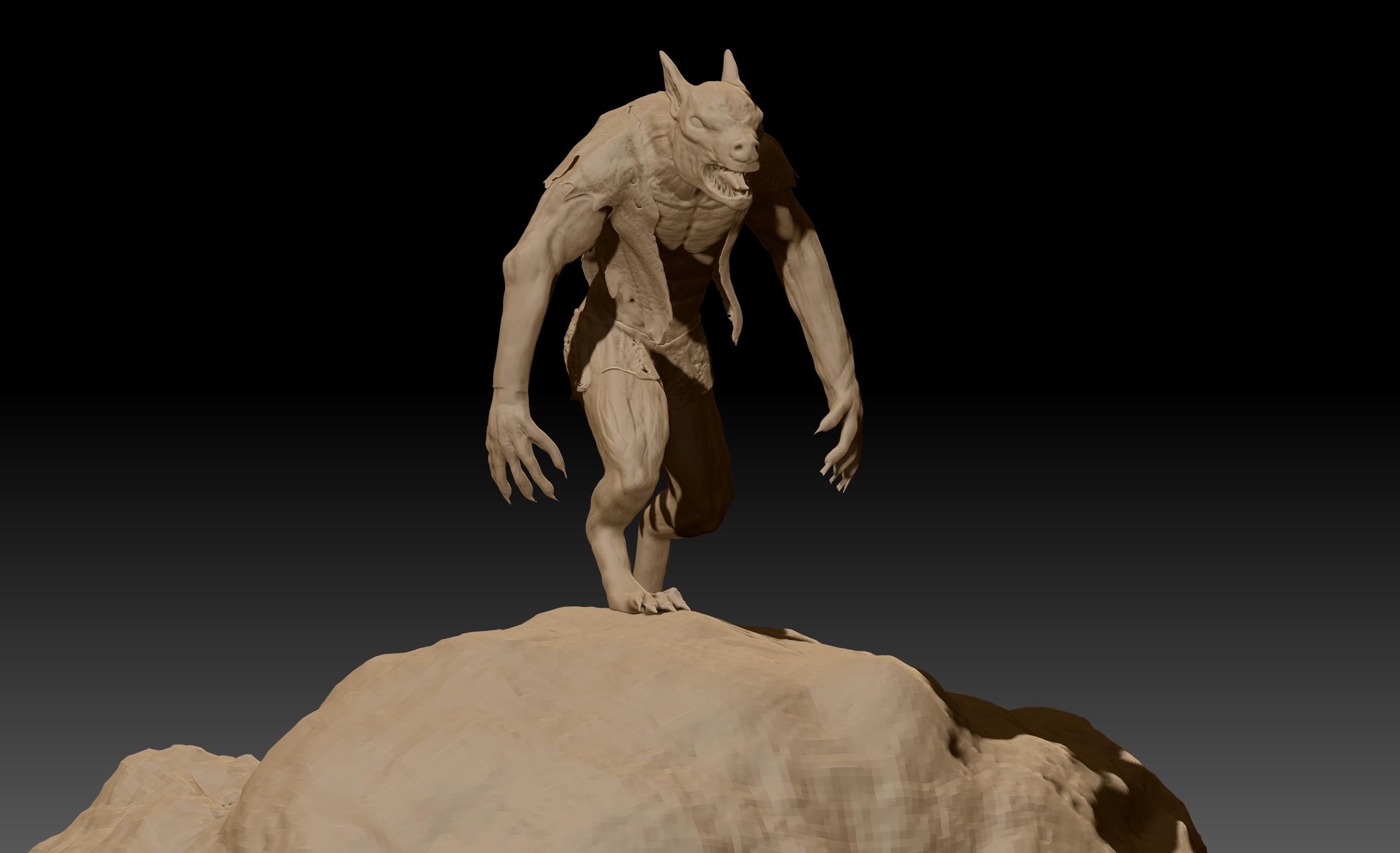 werewolf trilobyte designs