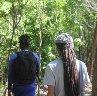 BIOPAMA rangers patrolling the mangroves of Ma Kote.
