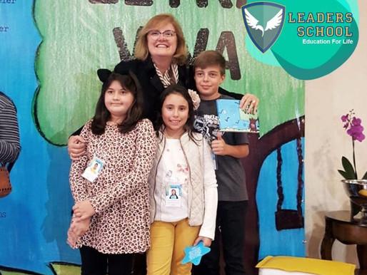 Alunos do Leaders School ganham espaço no livro Letra Viva – Editora Adonis