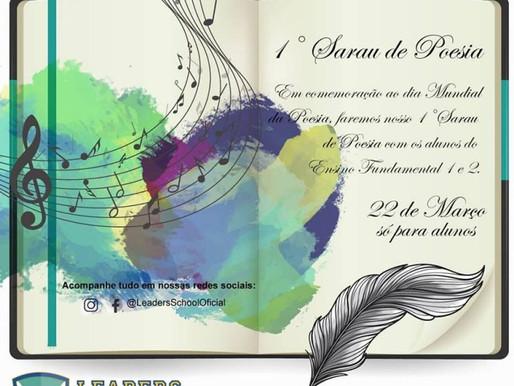 1° Sarau de Poesia – Leaders School