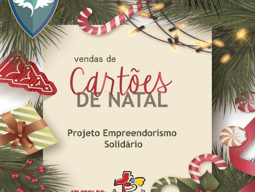 Cartões de Natal – Projeto Empreendedorismo e Educação Financeira